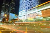 Traffico di notte — Foto Stock