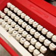 Old typewriter — Stock Photo