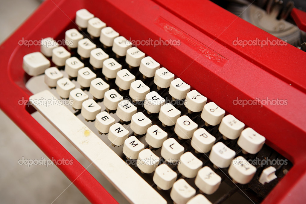 Old typewriter — Stock Photo #4188389