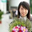 Asian girl graduation - Stock Photo