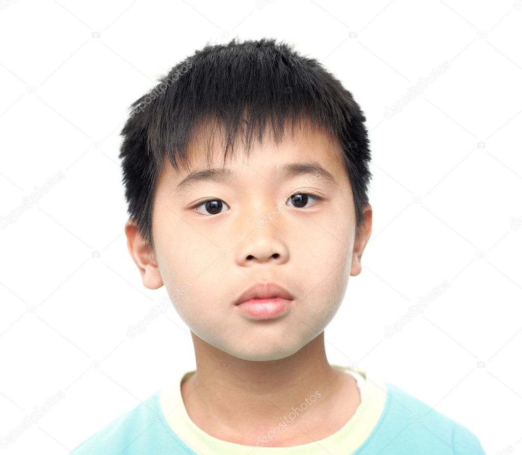 Asian kid boy — Stock Photo © leungchopan #4388839