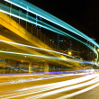 Highway traffic at night — Stock Photo #4477198