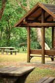 Picnic place — Stock Photo