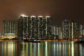 Hong kong di notte — Foto Stock