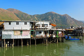 Tai O, fishing village in Hong Kong — Stock Photo