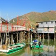 tai o fishing village in hong kong — Stock Photo