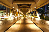Modern flyover at night — Stock Photo