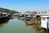 Tai O fishing village in Hong Kong — Stock Photo