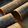Stock Photo: Metal pipes