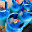 Stock Photo: Propane tanks