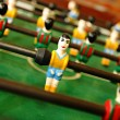 Stock Photo: Retro wooden foosball table