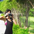 Amateur photographer — Stock Photo