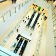 Modern shopping mall. in rush — Foto Stock