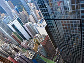Hong Kong crowded buildings — Stock Photo