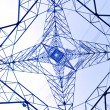 Royalty-Free Stock Photo: Power transmission tower
