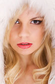 Beautiful Model With Blond Hair — Stock Photo