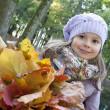 Stock Photo: Autumn smile