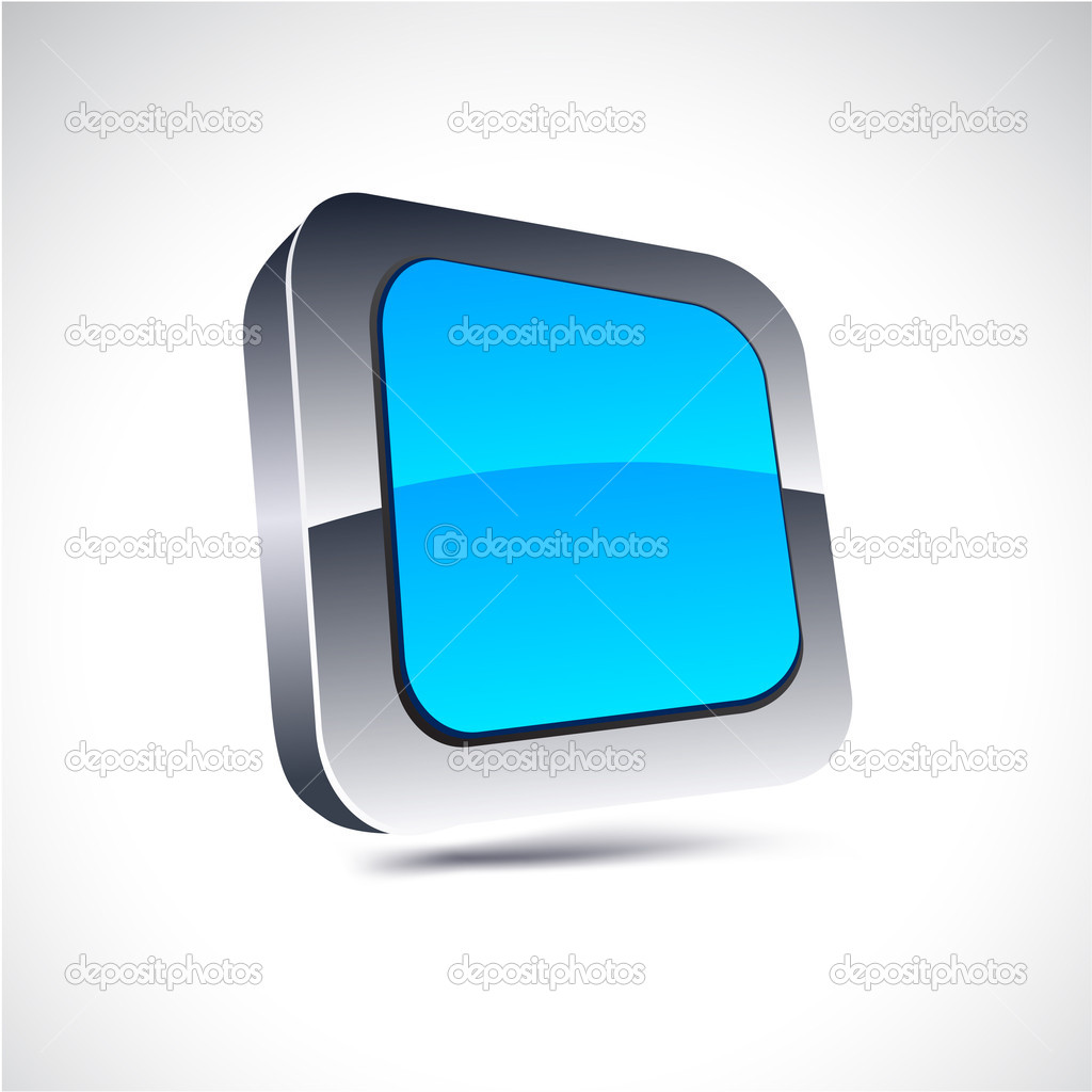 Blue square icon