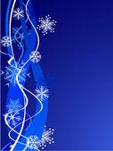 Fundo de flocos de neve linda. — Vetorial Stock