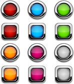 Site buttons. — Stock Vector