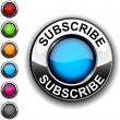 Subscribe  button. - Stok Vektör