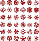 Snowflakes. [Vector]. — Vetorial Stock