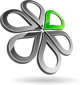 Company symbol. — Stock Vector