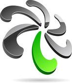 Företaget symbol. — Stockvektor
