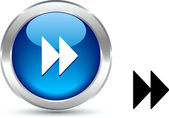 Forward button. — Stock Vector