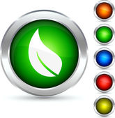 Bouton d'écologie. — Vecteur