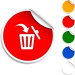 Delete icon. — Stock Vector #5080948