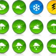 Weather  icons. — Stock Vector