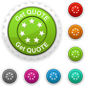 Get quote award. — Stock Vector
