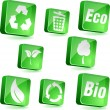 Vector de stock : Ecology icons.