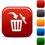 Delete icons. — Stock Vector #5191035