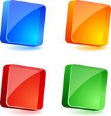 Conjunto de botões. — Vetorial Stock