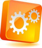 Settings Icon. — Stock Vector