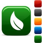 Iconos de ecología. — Vector de stock