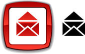 E-mail button. — Stock Vector