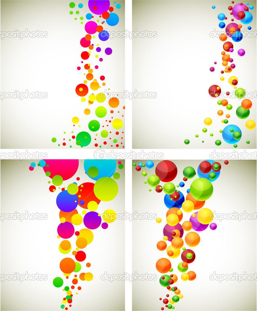 .Abstract modern spectrum backgrounds. Vector.  Stock Vector #5258106