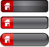 Home button set. — Stock Vector