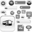 Royalty-Free Stock Vector Image: Bus signs.