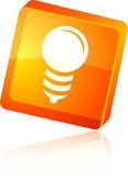 Icône d'ampoule. — Vecteur