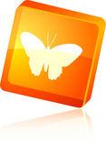 Ikona motyl. — Wektor stockowy