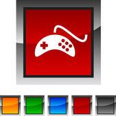 Gamepad icons. — Stock Vector