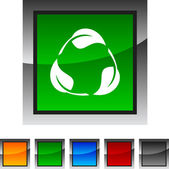 Recycle icons. — Stock Vector