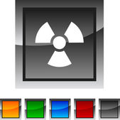 Radiation icons. — Stock Vector