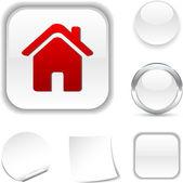 Home icon. — Stock Vector