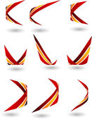 Set of Company Logos. — Stock Vector