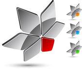 Unternehmen-symbol. — Stockvektor
